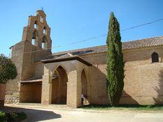 Valladolid Cuenca de Campos iglesia Santa Maria Castillo