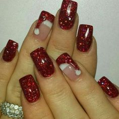 Best Christmas Nails for 2017  64 Trending Christmas Nail Designs  Best Nail A