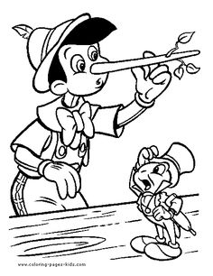 Billedresultat for pinocchio coloring pages  Pinocchio Coloring