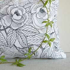 Items similar to Rambeling Roses Cushion Cover on Etsy
