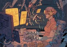 "Josan Gonzalez is an artist that has exploded onto the science fiction art scene. If you aren't familiar with his name but are remotely involved with the cyberpunk community, then you've seen his art making the circuit. His imagery is inspired and tickles that ""High Tech, Low Life"" portion of your brain. The level of …"