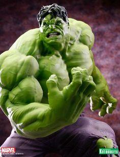 Marvel Comics Hulk Classic Avengers Fine Art Statue 09