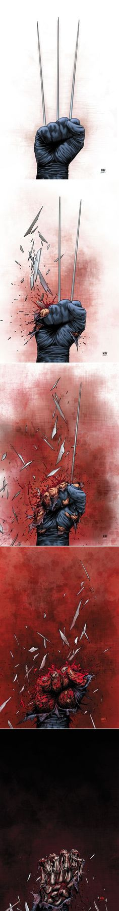 Death of Wolverine by Steve McNiven: