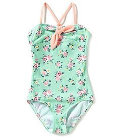 Copper Key Big Girls 7-16 Floral One-Piece Swimsuit