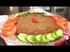 How to make Gluten Free Oven Baked Kubba (Assyrian Food) - YouTube Oven Baked, Meatloaf, Delicious Food, Gluten Free, Dishes, Baking, Healthy, Youtube, How To Make