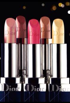Dior lipstick. Via @swisschicboutiq. #Dior #makeup