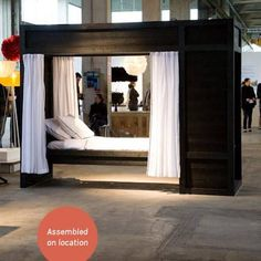 Almost one year ago to the day, I was introduced to two people at 19 Greek Street who told me all about their low-cost bedroom units designed for the homeless shelters of Amsterdam. Produced in sheltered workshops with recycled plastics, Wouter Kalis and Corinne de Korver devised the design as a low-cost solution offering a…
