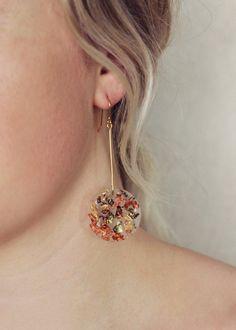 Autumn Drops #resinjewellery #handmade #gild