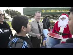 Los Angeles County Sheriff Department, along with Santa Claus, delivered toys to program participants from AbilityFirst East Los Angeles Center and the Lawrence L. Frank Center. Thank you to everyone who made this wonderful day possible.