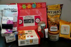 new mom hospital survival kit