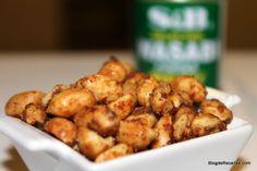 Wasabi peanuts - Amendoim picante by Gabriela Dedolph