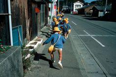 Stuart Franklin JAPAN. Tokyo. School children. 1987