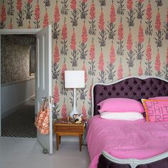 Wohnideen Schlafzimmer on Pinterest  Bedroom Pictures, Country Bedrooms and Floral Bedroom