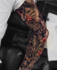 "Páči sa mi to: 4,805, komentáre: 34 – ⠀⠀⠀⠀⠀⠀⠀⠀TATTOO ARTISTS (@tattoo.artists) na Instagrame: ""Fusion Tattoo Artwork Artist IG: @garymossman"""