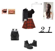 """""""Geen titel #174"""" by littlemissbeautifulmadness ❤ liked on Polyvore featuring Timberland, Moschino and Proenza Schouler"""