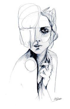 Sketch V Canvas Print