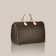 Speedy 35 via Louis Vuitton $895