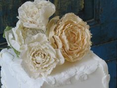 peonies, roses and leaves designed and handcrafted by Maggie from Florabunda & Cake.  I place these on my wedding cakes and sell them separately.  If you love this contact me on 029 3563668. Prices range from $15.00 to $55.00.