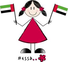 Hessa character from UAE