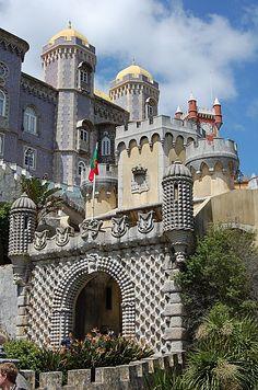 Sintra - Palais da Pena - Lankaart, Portugal