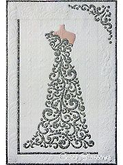 The Dress Wall Hanging Laser-Cut Kit