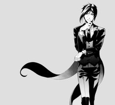 Sebastian Michaelis, he's the only thing to cheer me up, so. Bam.