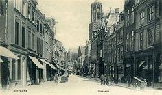 De Steenweg 1901. Is niet zoals de naam doet vermoeden, de eerste bestrate weg…