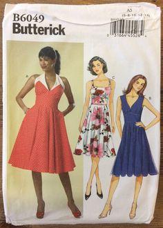 UNCUT Misses' Dress Pattern Butterick 6049 Size by SewPatterns