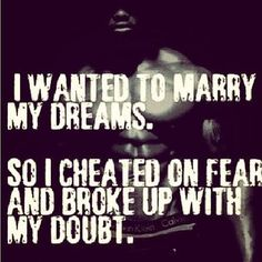 Cheat on fear
