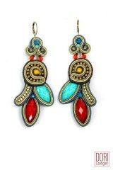 Aventure trendy boho chic earrings by Dori Csengeri