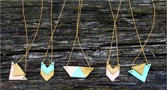 Geometric Necklaces | You Pick the Brit Kit