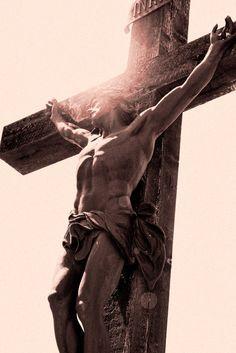 Jesus on the cross. <3