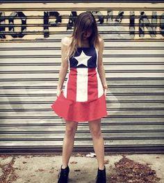American Flag Women's Full Apron