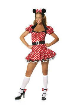 Sexy Miss Mouse Adult Womens Costume size S/M #CompleteCostume