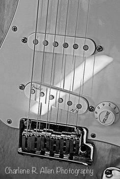 #Music, #Black and White, #Guitar