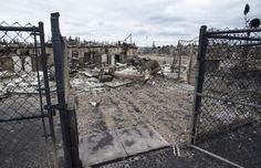 Monday, May 9, 2016 | The burned out remains of a home in the Abasands neighbourhood is seen during a media tour of the fire-damaged city of Fort McMurray, Alberta, on May 9, 2016 | THE CANADIAN PRESS / Ryan Remiorz