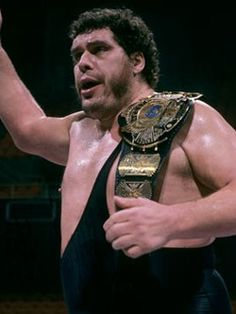 WWF World Heavyweight Champion Andre The Giant