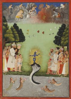 an illustration to the bhagava ||| miniature ||| sotheby's n09831lot9p77ben