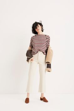 A look from Madewell's Fall 2017 collection. Photo: Madewell
