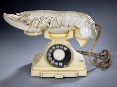 Aphrodisiac telephone -Salvador Dali
