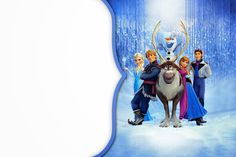 Frozen: Free Printable Cards or Party Invitations