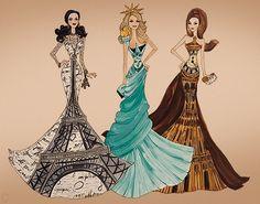 Miss Paris, New York, London. wow