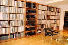 Bedroom Wall Units for Storage Best Of Wall Unit for Vinyl Record Album Storage Record Shelf, Vinyl Record Storage, Record Display, Record Wall, Bedroom Wall Units, Cd Storage, Vinyl Record Collection, Vintage Library, Audio Room