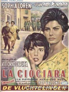 """La Ciociara di De Sica -- violenta e bella il film he stato girato a """"ITRI"""" bella Itri."""