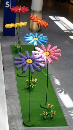 Flowers 2.0, fleurs géantes lumineuses - Buscar con Google