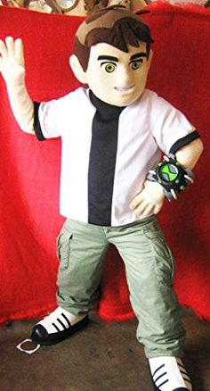 Ben 10 Mascot Costume Adult Cartoon Character Costume ** Continue to the product at the image link-affiliate link.