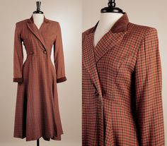 Hey, I found this really awesome Etsy listing at http://www.etsy.com/listing/169029585/1940s-vintage-wool-coat-dress