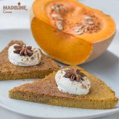 Budinca de dovleac / Pumpkin flan - Madeline's Cuisine Pumpkin Flan, Protein Bars, Cantaloupe, Snacks, Fruit, Sweet, Desserts, Food, Kitchens