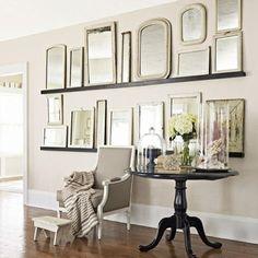 Classic mirror wall decor