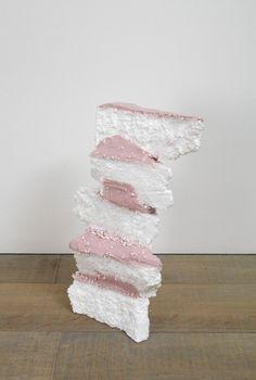 Karla Black . leave, 2012